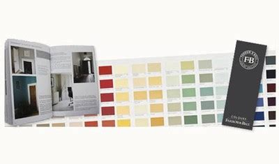 free paint color card and brochure from farrow and free stuff product sles freebies