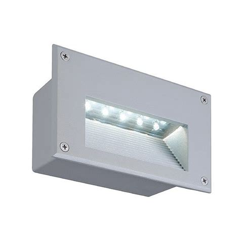 Outdoor Led Recessed Lights Brick Led Downunder Outdoor Wall Recessed Light By Slv Lighting At Lighting55 Lighting55