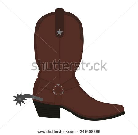 cowboy boot illustrations and clip art 1346 cowboy boot cowboy boots with spurs clipart 56