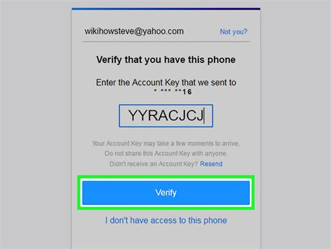 yahoo email restore how to recover a yahoo account 11 steps with pictures