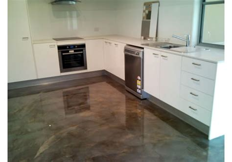 concrete kitchen flooring polished concrete epoxy coatings from aaa floors