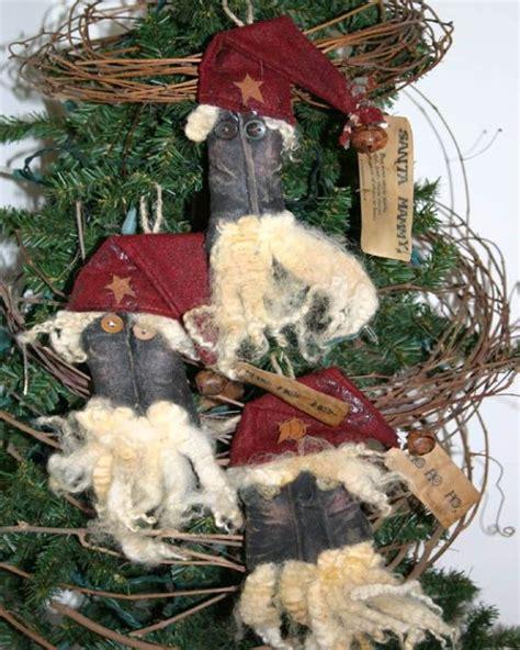 25 beautiful primitive christmas ornaments ideas magment