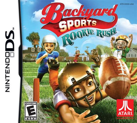 backyard sports football rookie release date xbox