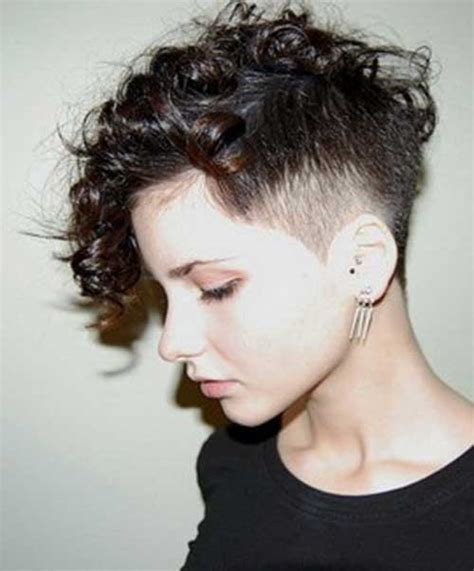 chelsuk i got my hair cut both sides are shaved now 20 good pixie haircuts for curly hair short hairstyles