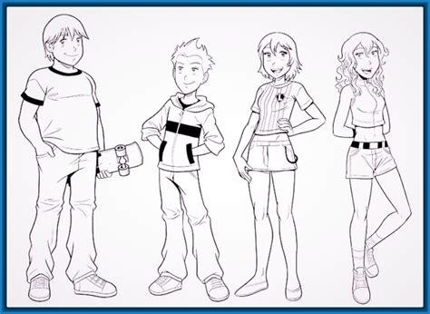 imagenes para colorear jovenes dibujos para colorear de ni 241 os ayudando en casa archivos