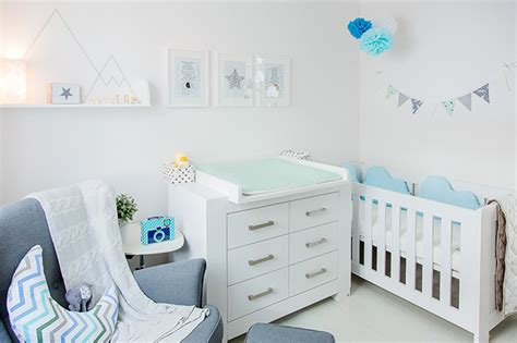 skandinavische kindermöbel orange babyzimmer dekor