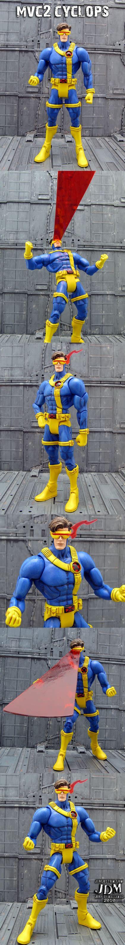 Costum Cyclops 2 custom cyclops with optic blasts mvc2