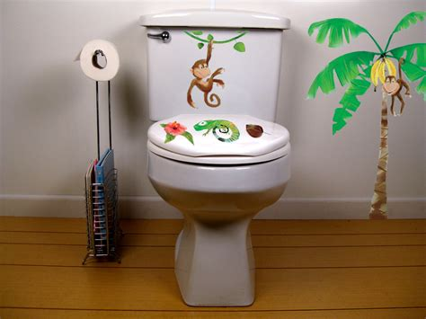 Monkey Bathroom Accessories Monkey Bathroom Toilet Decor Potty Concepts