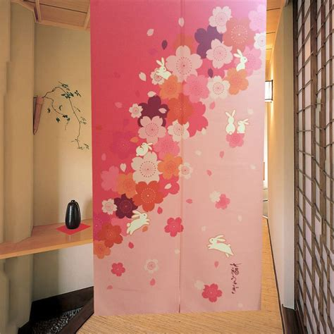 asian door curtain japanese style noren door curtain traditional doorway