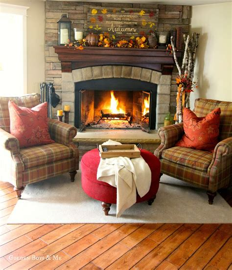 seating in front of fireplace golden boys and me stone fireplace details sources