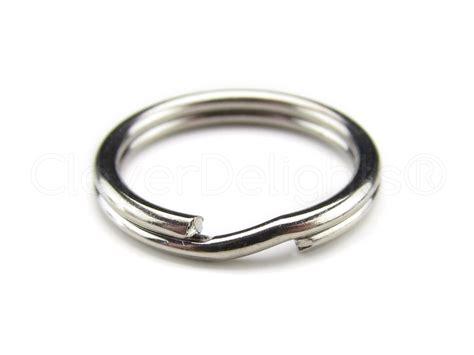 Key Ring 100 pack 9 16 quot key rings small split key ring strong