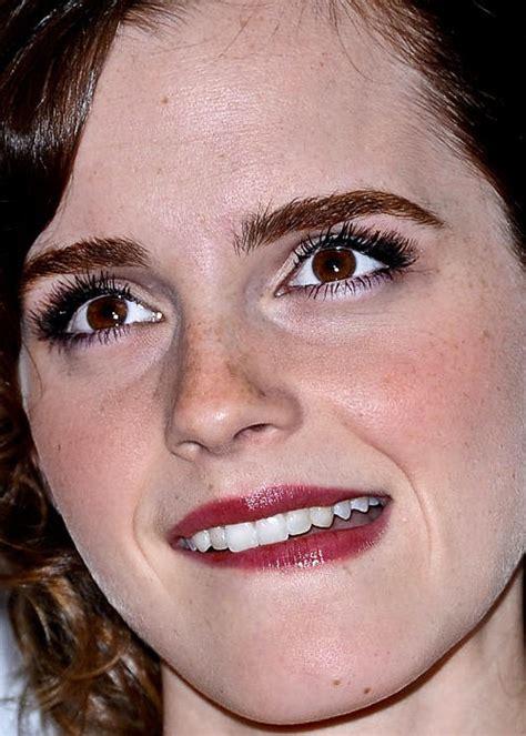 emma stone forehead 24 uncomfortably close celebrity close ups smosh