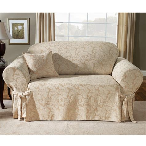 sure fit scroll sofa cover chagne other home