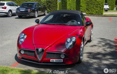 Alfa Romeo 8c Spider by Alfa Romeo 8c Spider 28 May 2016 Autogespot
