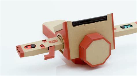 nintendo reveals labo series  diy cardboard switch toys