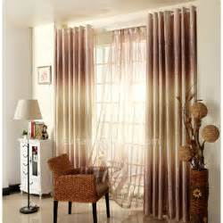 Country Window Curtains Country Window Curtains In Gold Color Of Ombre Visual Feeling