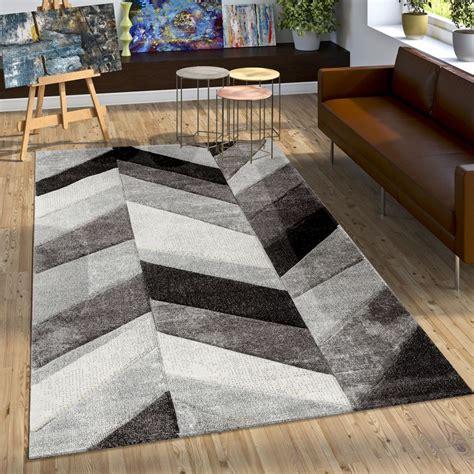 tappeto grigio moderno tappeto design moderno contorni intagliati elegante grigio
