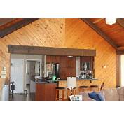 Paint Knotty Pine Family Room