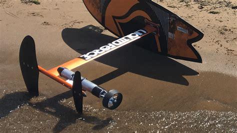 motor boat surfboard diy electric hydrofoil surfboard remote propulsion