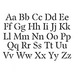 alphabet stencil templates stickytiger alphabet stencil template