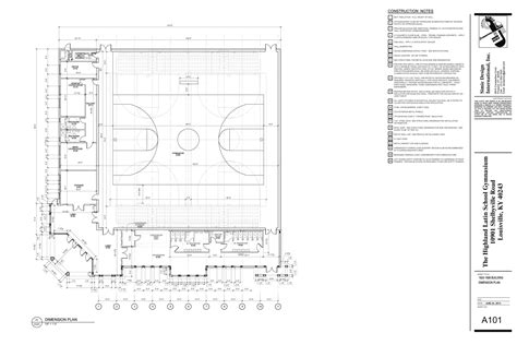 High School Gymnasium Floor Plans Gymnasium Plans For Cus Highlands