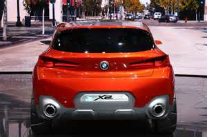 Bmw X2 Bmw X2 Concept Unveiled In Motor Trend