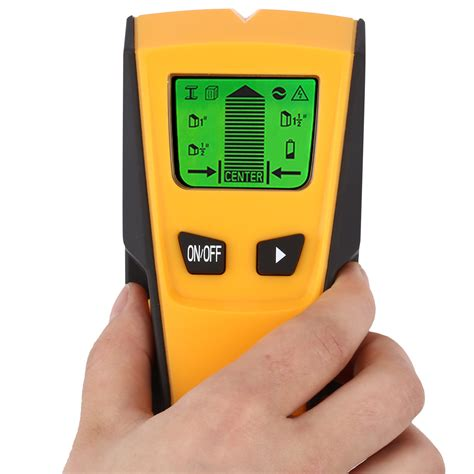 Pipi Finder New Lcd Scanner Wood Stud Metal Wire Voltage Copper Pipe Finder Wall Detector Uk
