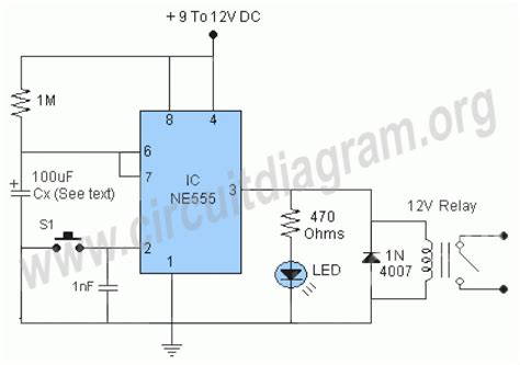 timer relay circuit diagram time delay relay circuit diagram readingrat net