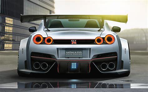 nissan gtr rear widebody nissan gtr r35 rear by monacoautodesign on