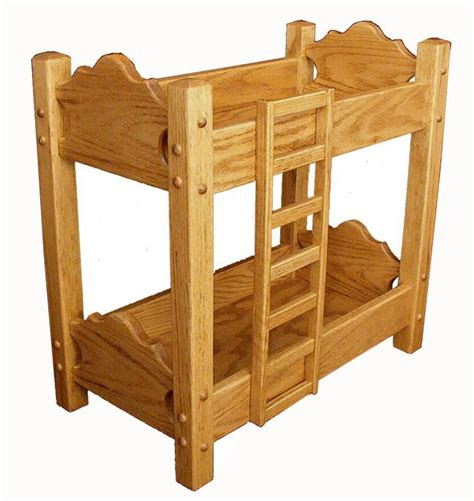 amish bunk beds hardwood doll bunk bed from dutchcrafters amish furniture