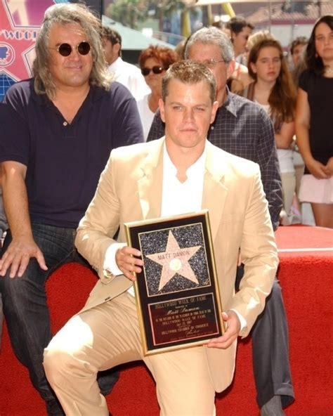 Matt Damon Gets His Walk Of Fame by Matt Damon On The Walk Of Fame Ceremony