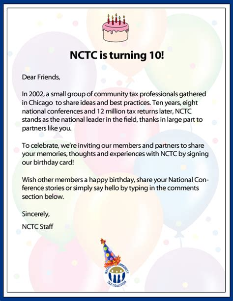 signing a birthday card sign nctc s birthday card workforward official