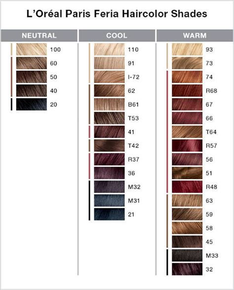 L Shade by 25 Beautiful Feria Hair Color Ideas On How To