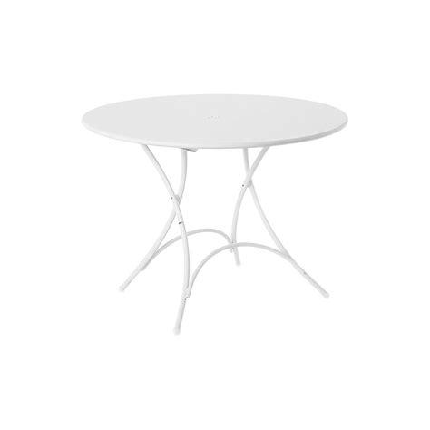 tavolo tondo pieghevole emu tavolo tondo pieghevole pigalle 904 designperte it