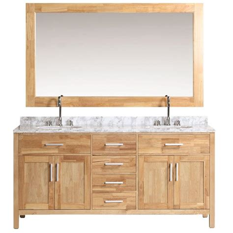 design element london 72 in w x 22 in d double vanity in design element london 72 in w x 22 in d vanity in oak