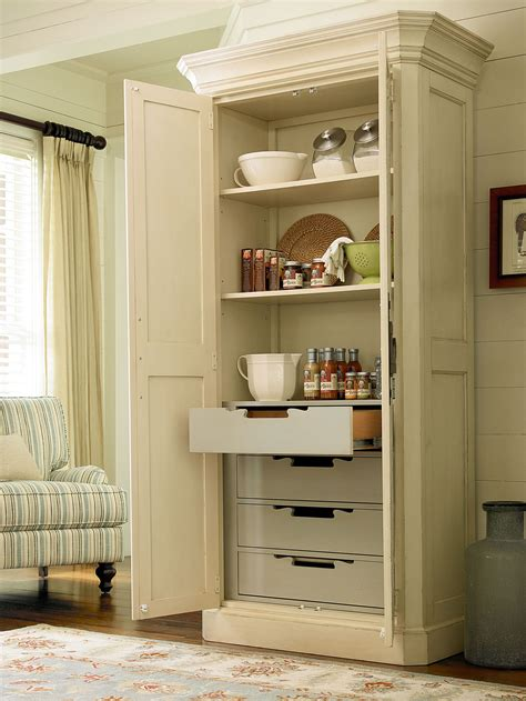 muebles cocina plona river house collection utility cabinet with four tray