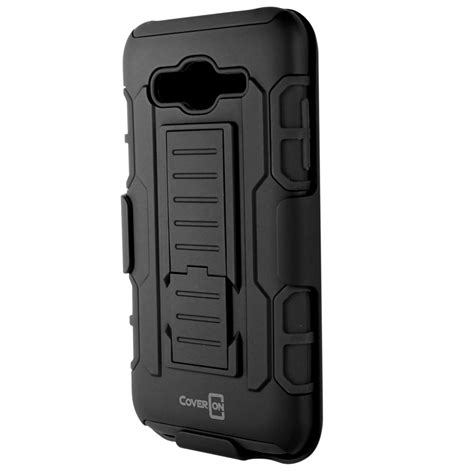 rugged belt rugged belt clip holster kickstand combo phone cover for samsung galaxy j5 ebay
