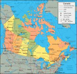 map of canada and its cities tallest building political map of canada pictures
