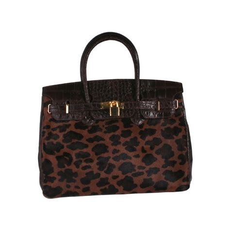Handmade Bags For Sale - cheap italian leather handbag in animal and crocodile