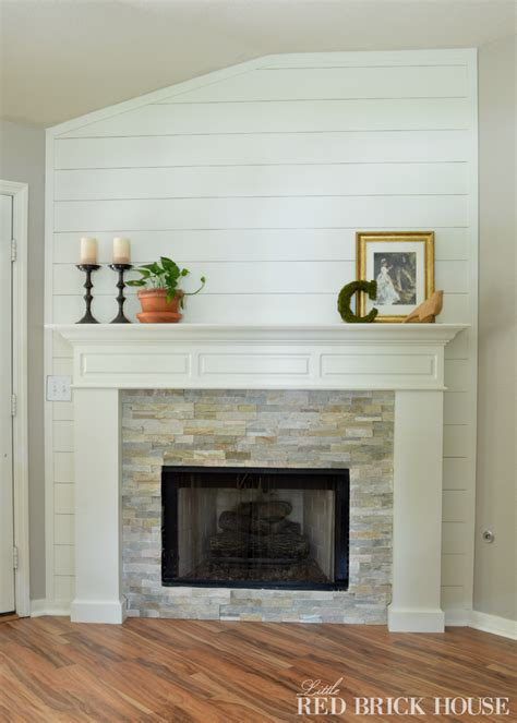 fireplace makeover fireplace makeover demo pillar construction