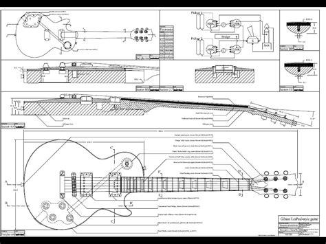 custom blueprints blueprints blueprints image gibson les paul guitar