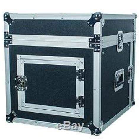 8 Space Rack by 8 Space Rack With Slant Mixer Top Effect Pa Dj Pro Audio Road