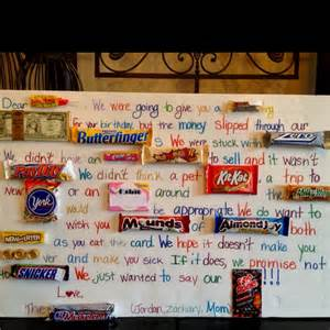 76 best images about candy cards on pinterest candy bar
