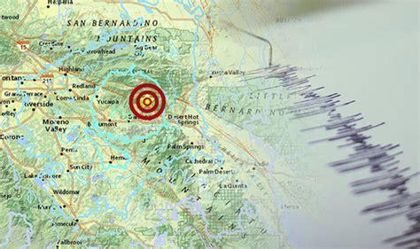 earthquake california today earthquake hits california huge quake shakes us west
