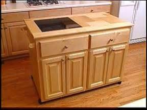How To Build A Movable Kitchen Island Make A Roll Away Kitchen Island Hgtv