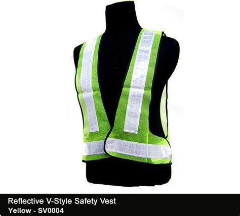 Tempahan Baju Vest reflective safety vest cetak baju murah