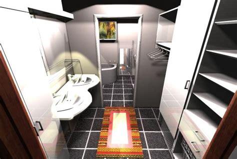 walk in closet with bathroom combination design 23 best universal design bathroom images on pinterest