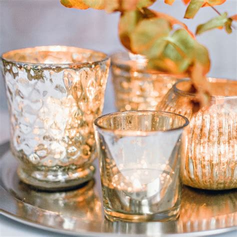 Handcrafted Tea - vintage handcrafted tea light holders the wax house