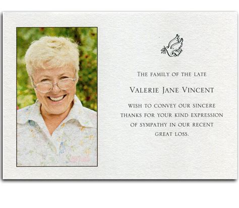 free memorial thank you card template tips how to write a thank you card invitations templates