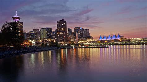 Vancouver City Lights Vancouver Bc Photos Light Vancouver